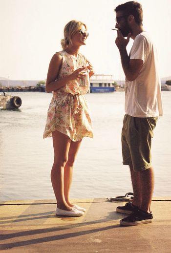 Derken... Summer Girl Enjoying Life Hanging Out