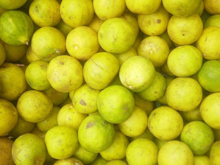 Abundance Backgrounds Close-up Day Food Food And Drink Freshness Fruit Full Frame Green Color Healthy Eating Large Group Of Objects Lemons Mango Market No People Outdoors Retail  Vijayawada