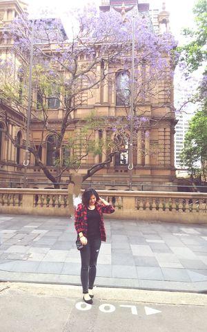 Sydney mùa phươngj tím