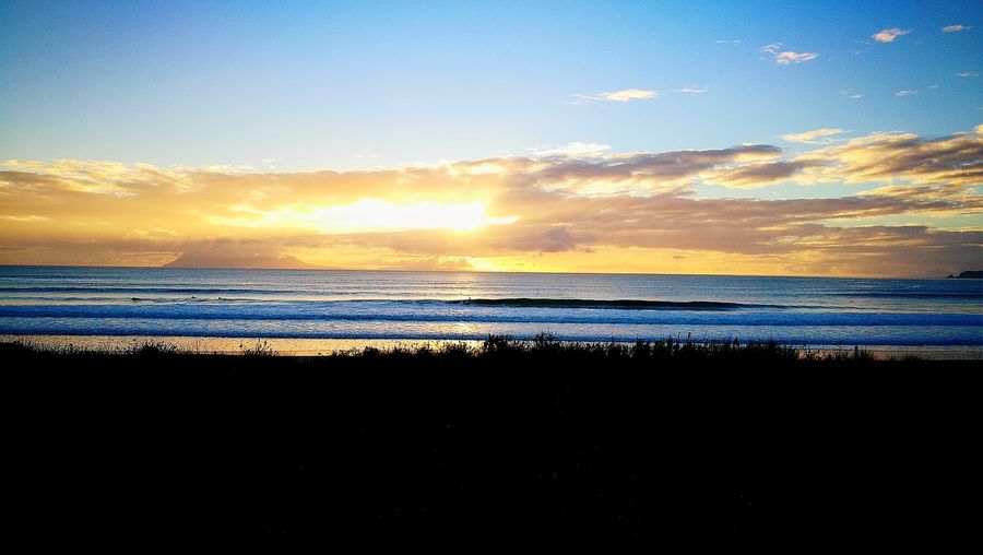 Omaha Beach New Zealand Sunrise Nature Beauty In Nature Outdoors Just For Fun