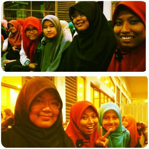 With beautiful and awesome sisters UitmPerak PusatIslam Sistersinislam