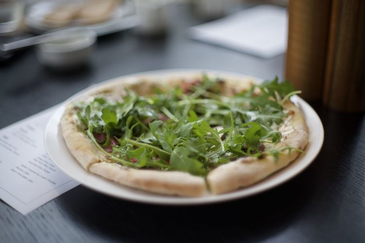 Life consists of magic and pizza Close-up Day Food Food And Drink Freshness Healthy Eating Indoors  No People Pizza Plate Ready-to-eat Selective Focus Table