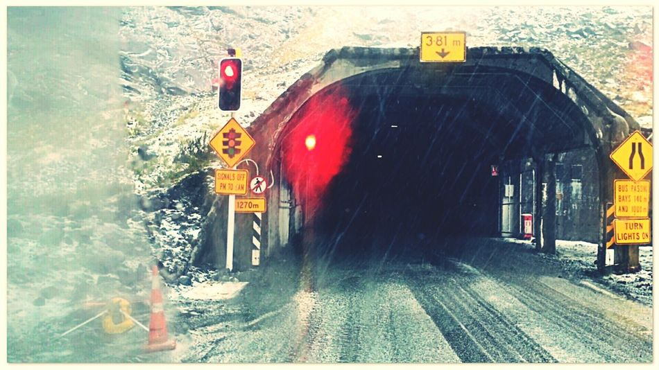 Homer's Tunnel New Zealand