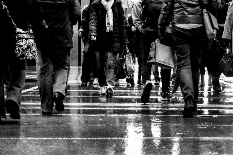 Pedestrian Blackandwhite