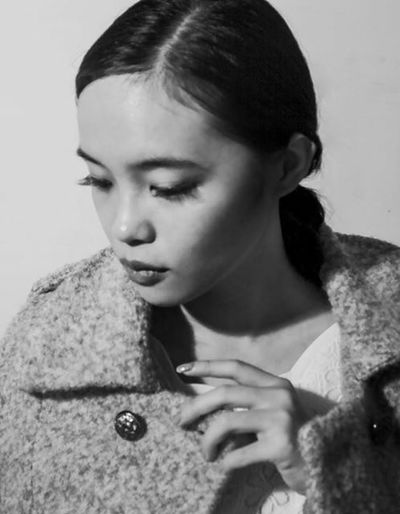 Button Up Black And White Girl EyeEm 2015 Faces Of EyeEm New Taipei City