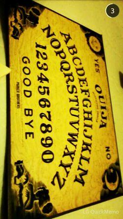 Hello World Snapchat Ouija Board