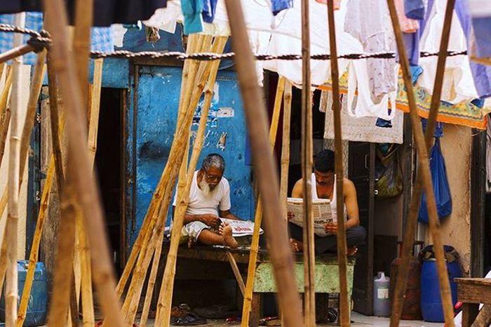 """A Life At Dhobi Ghat "" Dhobighat Mumbai India Incredibleindia MumbaiDiaries Mumbaikar Mumbai_igers Mumbaiphotohunt Photography Photographer Streetphotography Travelphotography Travelingram Dlsrofficial Sky Blue Cloud Lovephotography  Lonelyplanetindia Lonelyplanet"