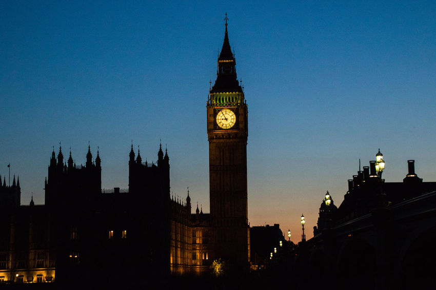 Architecture Big Ben Capital Cities  Clock Tower No People Parliament Parlian Sunset Sunset_collection That's Me Travel Destinations Westminster Westminster Abbey