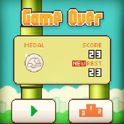 Flappy Bird Cudowna Gra nowy rekord 23 chyba dobry bum