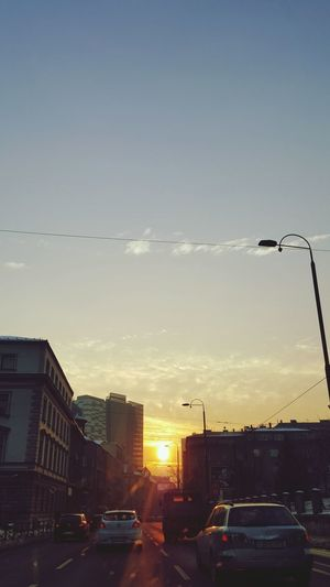 sunsets ❤ City
