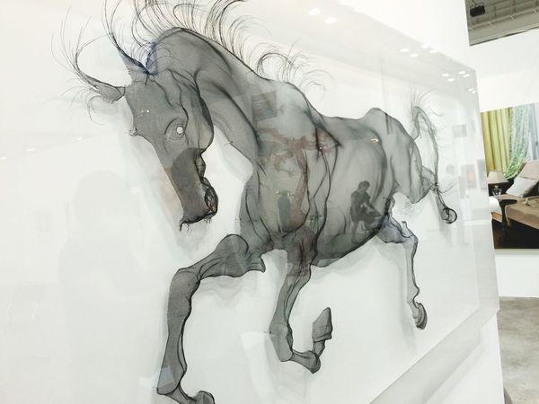 Artfair in Busan this work values over 18,000$. Amazing Art
