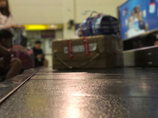 Let's Go. Together. Baggage Indoors  Baggage Claim