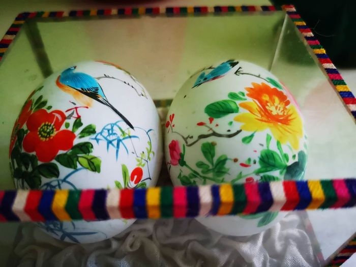 Happy Easter to all of my followers and friends. Spend a nice time together! EyeEm Design Vintage Love Object Focus Sixties 60er Multi Colored Close-up Colorful Handmade ArtWork