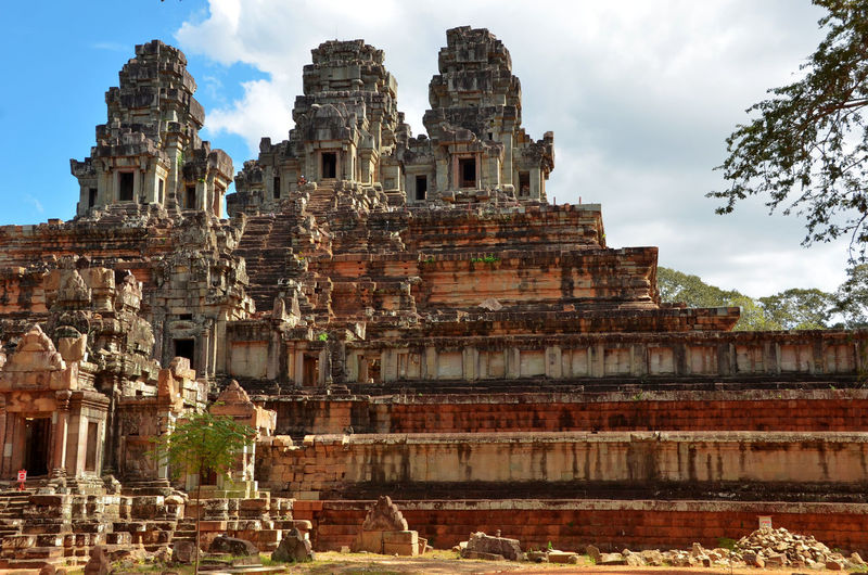 Cambodia Siem Reap , Cambodia Tourist Travel Traveling Ancient Civilization Architecture Building Exterior Built Structure Day No People Old Ruin Outdoors Place Of Worship Religion Sky Spirituality Statue Tourism Tourism Destination Travel Travel Destinations Vacations