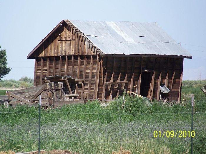 1930's Hay Barn Abandoned
