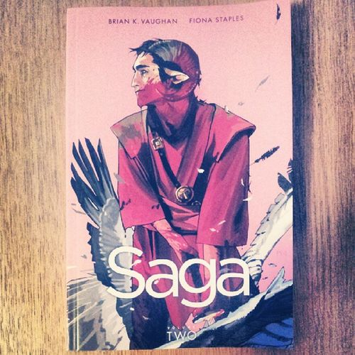 Saga vol.2 was great, looking forward to 3. FionaStaples artwork is very beautiful...I wish I could draw :(...