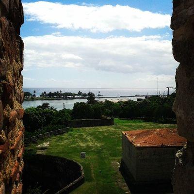 Desde la fortaleza ozama Santodomindo Rioozama Lazonacolonial Amomipais lifeinthetropic