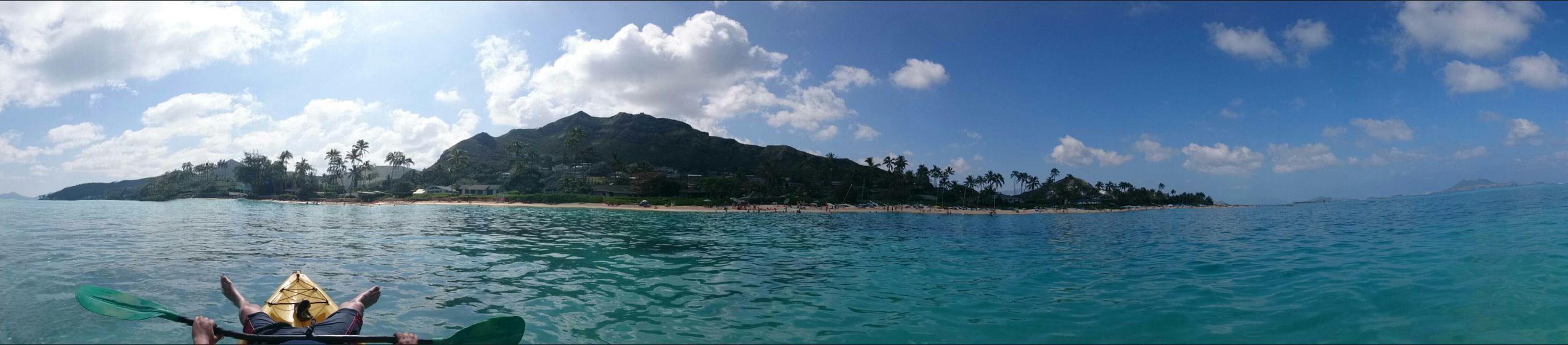 Relaxing Kayaking Oahu, Hawaii