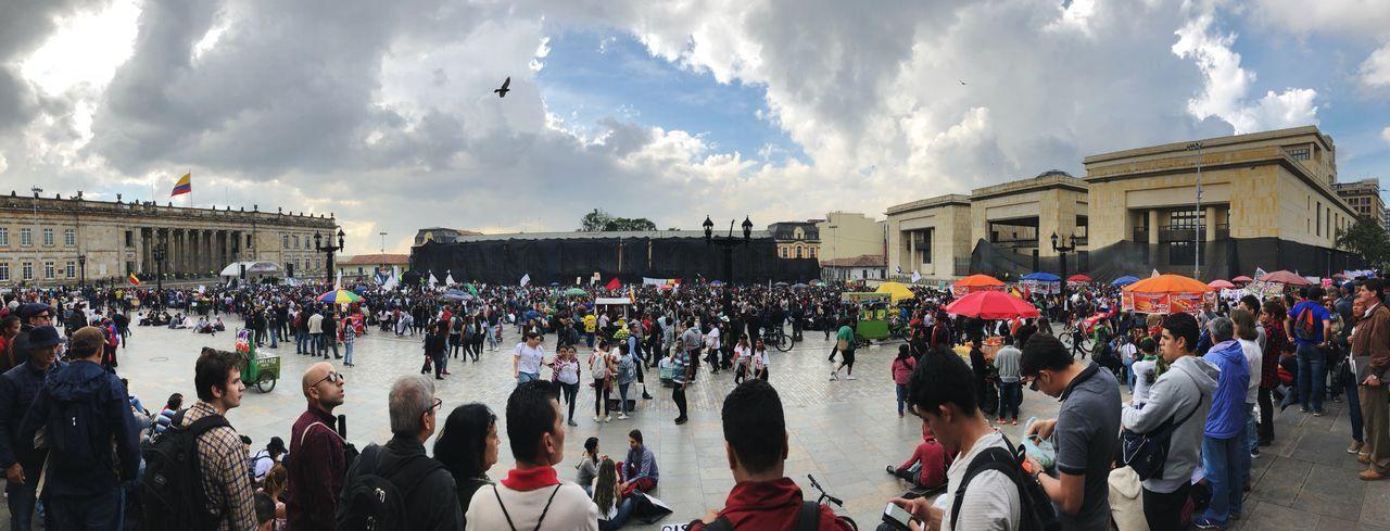Crowd Large