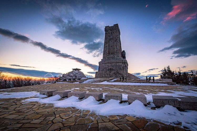 Another special place visited... Sky Cold Temperature Travel Destinations Outdoors Tourism Snow No People Winter Nature Beauty In Nature Day Check This Out Bulgaria Shipka България шипка