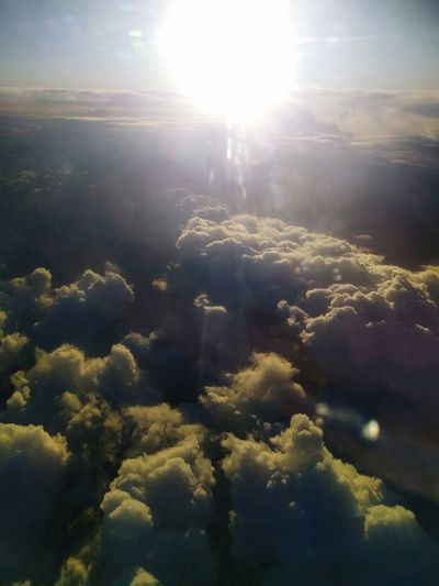 No People Cloud - Sky Nature Scenics Day Plane Journey Winter Lovephotography  Window Aerial View Sunlight Beautiful Clouds