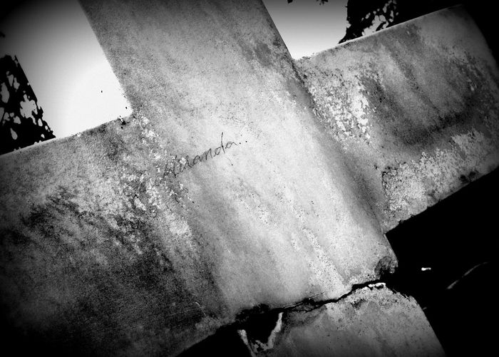 Scribble 19thcentury Black And White Cemetery Cracked Crosstobear Divides Maybe OldCalifornia