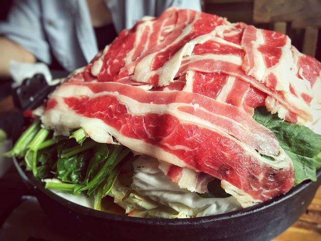 Hot Pot Meat! Meat! Meat! Fondues Food