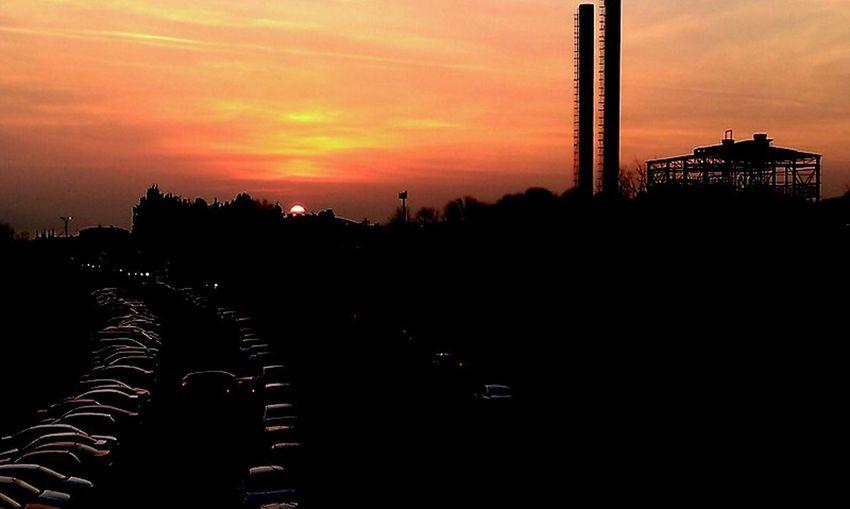 #black Color #cars #nice #old #orange Color #red #Shadow #sunset #TURKEY/Kocaeli #yellow