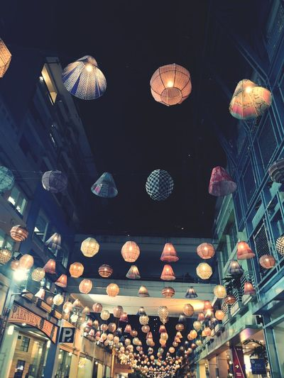 Light up the way. HUAWEI Photo Award: After Dark Illuminated Hanging Lantern Chinese New Year Chinese Lantern Festival Celebration Chinese Lantern Ceiling Lighting Equipment Disco Ball Paper Lantern Hanging Light Light Fixture #urbanana: The Urban Playground