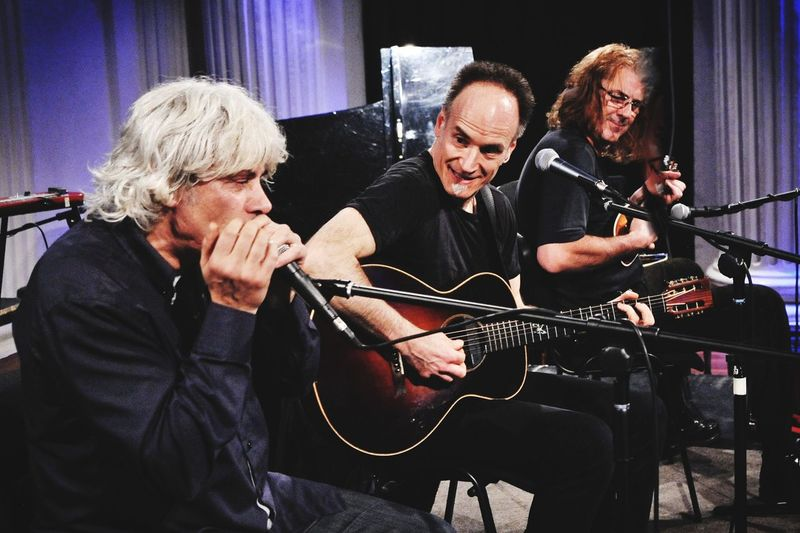 Blues Trio 04.11.2017 reunion Blues Trio EyeEm Selects Musician Electric Guitar Musical Instrument Plucking An Instrument Music Playing Happiness Togetherness Performance Senior Adult