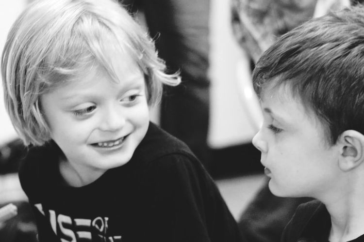 Boys Mischievous Children Photography What Are They Up To?