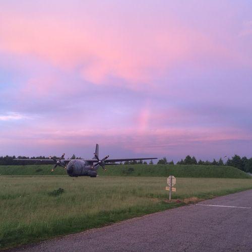 Rainbow Transall OpenEdit Airplane Aircraft Lovemylife Lovemyjob At The Airport Plane Aviators