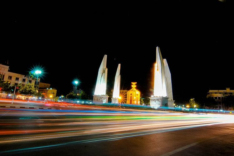 Democracy monument in Thailand