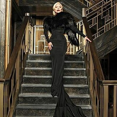 - The Countess AHSHotel AHSGaga TheCountess @Regrann from @wanaynay - The Countess, photographed in the Hotel Cortez lobby by @michaelavedonphotography for EW Regrann