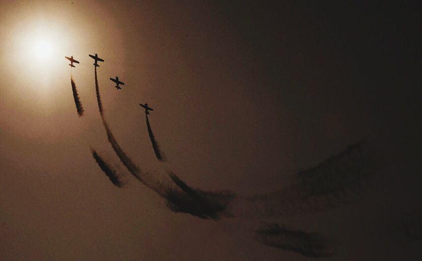 Flying Vijayawada Sky Sun Airplane Beauty In Nature Nature First Eyeem Photo