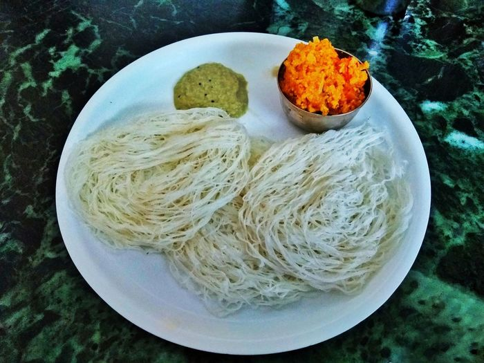 appam Appam Plate Food High Angle View Food And Drink No People Table Indoors  Ready-to-eat Day Close-up Freshness Healthy Eating