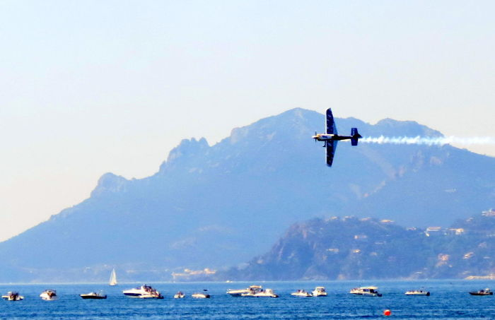 Beauty In Nature Cannes2016 Mode Of Transportation Nature Nautical Vessel Red Bull Air Race Red Bull Air Show Scenics - Nature Sea Sky Transportation Water Waterfront