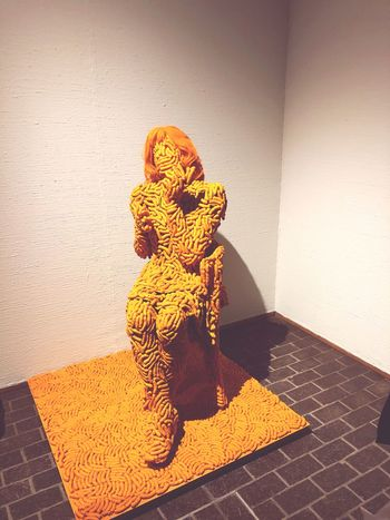 Cheetos EyeEm Selects Animal Representation Indoors  Sculpture Statue Yellow No People