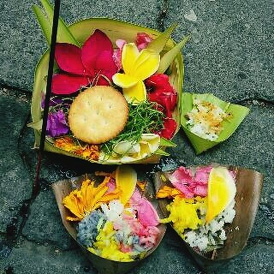 Bali, Indonesia Taking Photos Check This Out Pray Goodmorning Hello World balinese ritual offerings