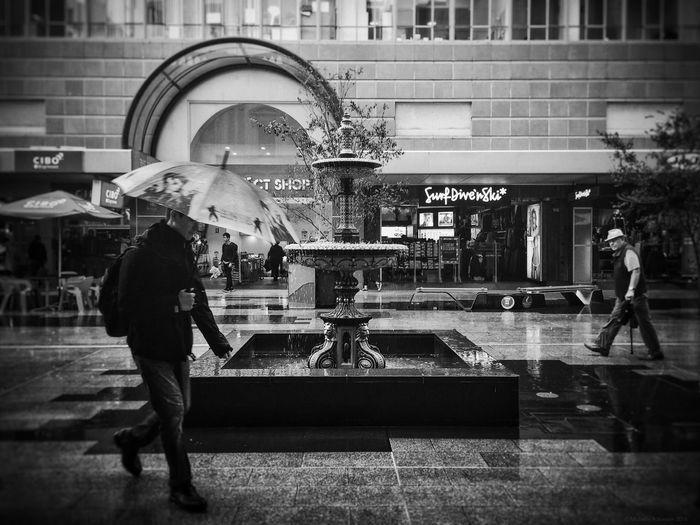Everyday #Adelaide No. 261 (Autumn/Winter) Adelaide, South Australia Australia Everyday Australia IPhoneography Shootermag Shootermag_australia Documentary Everybodystreet The Street Photographer - 2016 EyeEm Awards Street Photography Black & White Weather Raining