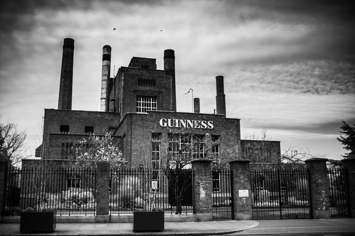 Architecture Built Structure Cloud Cloud - Sky Cloudy Day Dublin Exterior Guinness Information Information Sign No People Outdoors Sky The Architect - 2016 EyeEm Awards