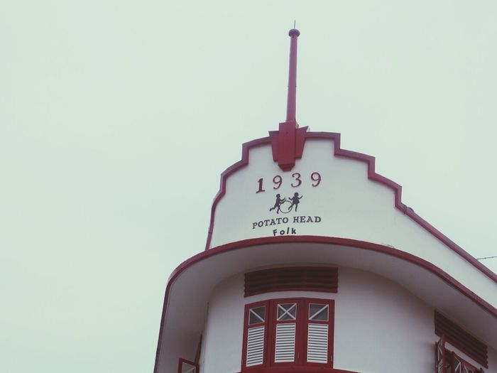 Vintage Building Sky