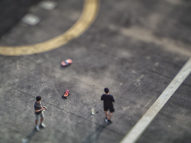 Remote Speed City Life Focus On Foreground Leisure Activity Lensbaby  Need For Speed Outdoors People Remote Control Car Selective Focus
