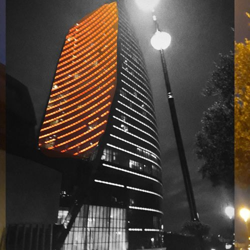 #flametowers Flametowers AlovQüllələri Illuminated City Lighting Equipment Architecture