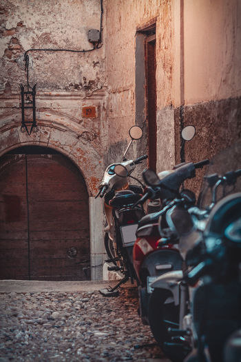 Bikes in Rhodes