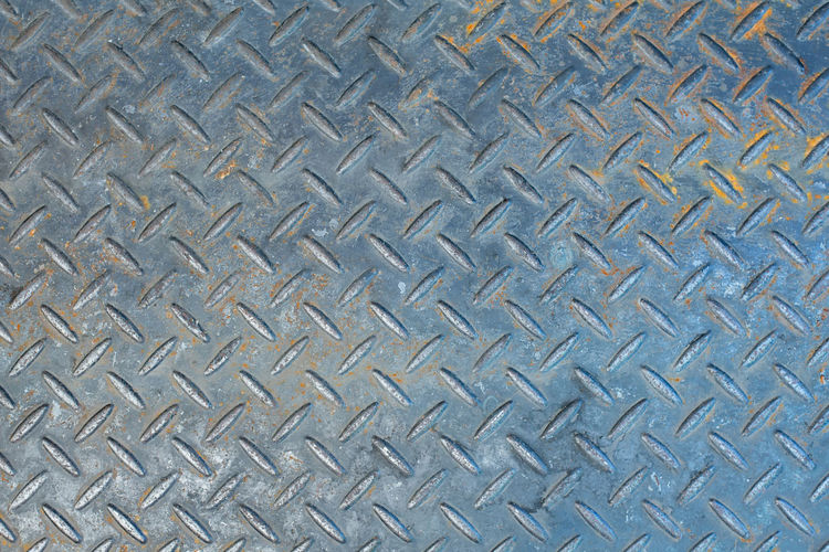 Alloy Backgrounds Close-up Day Design Diamond Shaped Directly Above Directly Below Full Frame High Angle View Indoors  Metal No People Pattern Repetition Shape Sheet Metal Silver Colored Steel Textured  Toughness