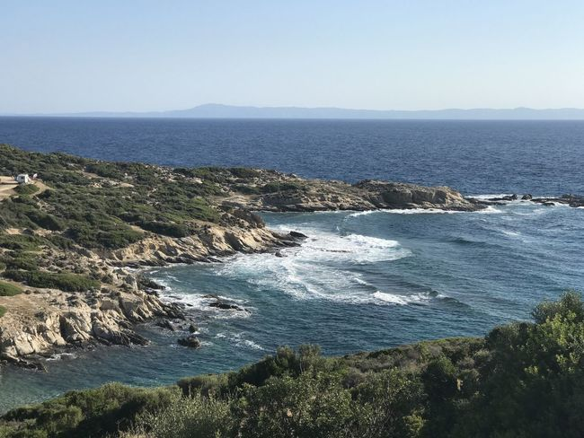 Beautiful wild beaches on Sithonia, Greece GREECE ♥♥ Landscape_Collection Mediterranean  Summertime Bar Beauty In Nature Hikingadventures No People Sea Sithonia Waves Wilderness