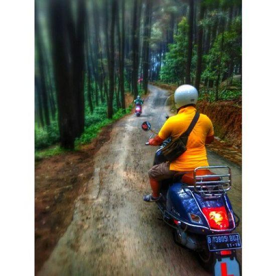 Bopscoot Vespa Vespalover Gtv250 Bogor GnPancar Sunda ride Instapic MiPhone redmi1s snapseed PhotoGrid with @aditvitto @bopscoot