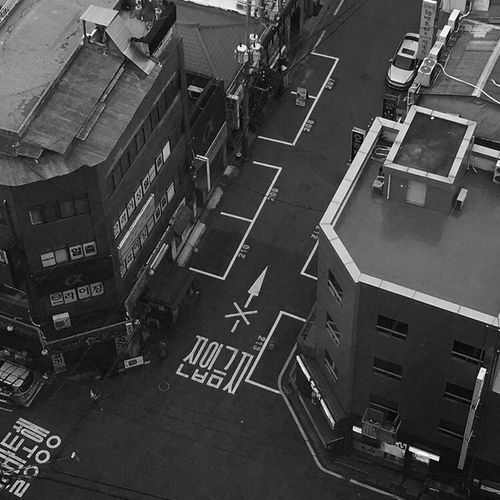 High Angle View Road Marking Street Transportation City Road Architecture Land Vehicle Built Structure Building Exterior Outdoors Day No People Vibes Mood Life View Daliy EyeEm Selects