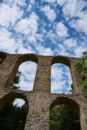 Ancient Ancient Civilization Arch Architecture Built Structure Cloud - Sky Day History Italy Lazio Low Angle View Monterano Nature No People Old Ruin Outdoors Sky The Past Travel Destinations Tree Tuscia